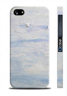 Чехол с 3D принтом для iPhone 5/5S - Art Sky