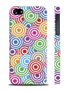 Цветной чехол для iPhone 5/5S - Circles