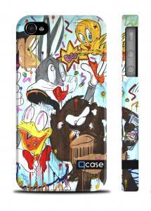 Авторский чехол QCase iPhone 4/4S, Киев - K.Kazantsev - Disney