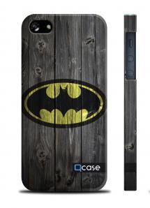 Купить чехол QCase с 3D печатью для iPhone 5/5S - Batman