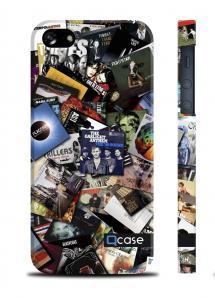 Классный чехол QCase для iPhone 5/5S - Albums