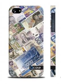 Купить наклвдку QCase на iPhone 5/5S - Money