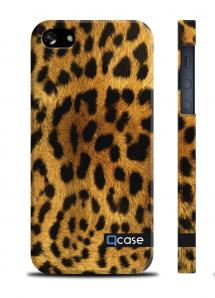 Купить чехол QCase с животным принтом на iPhone 5/5S, Киев - Leopard