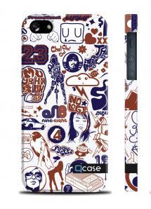 Оригинальный чехол QCase для iPhone 5/5S - PenArt 23