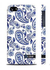Пластиковый чехол QCase для iPhone 5/5S - Gzel
