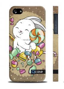 Авторская накладка QCase для iPhone 5/5S - E.Mamaeva (CANDY)