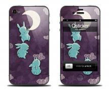 Наклейка на iPhone 4/4S - дизайн Mamaeva Moon