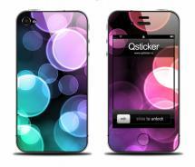 Наклейка для iPhone 4 - LightCircles