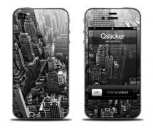 Наклейка на iPhone 4 - New York
