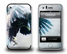 Наклейка на iPhone 3Gs - Eagle