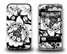 Наклейки для iPhone 3Gs - Hohloma White