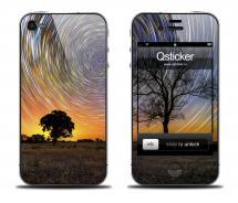 Наклейка на iPhone 4/4S - дизайн Sky and Stars