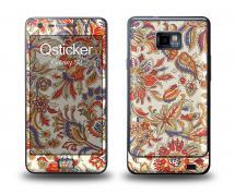 Наклейка Qsticker на Samsung Galaxy S2 - Spring