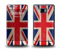 Наклейка Qsticker на Samsung Galaxy S2 - флаг Британии