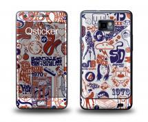 Наклейка Qsticker на Samsung Galaxy S2 - Penart 23