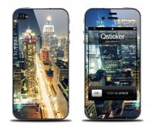 Наклейка для iPhone 4s - Night City