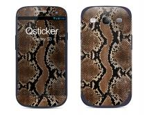 Наклейка на Samsung Galaxy S3 - кожа крокодила