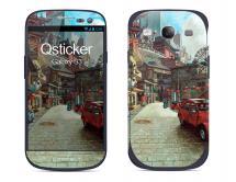 Наклейка на Samsung Galaxy S3 - Китайский городок
