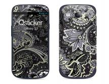 Наклейка на Samsung Galaxy S3 - Flovers Grey