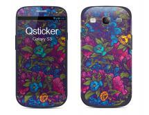 Наклейка на Samsung Galaxy S3 - Flovers Violet