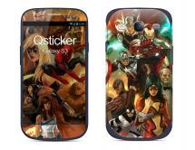 Наклейка на Samsung Galaxy S3 - Супергероии Мстители