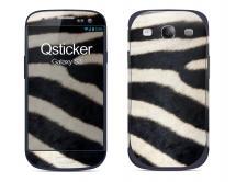 Наклейка на Samsung Galaxy S3 - Зебра