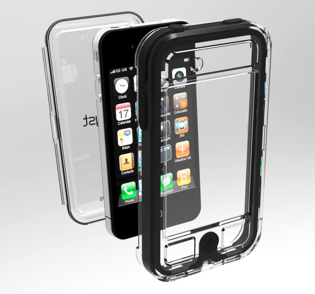 Надежный водонепроницаемый чехол для iPhone - Escape Capsule